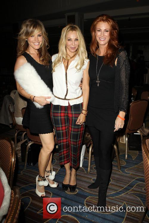 Sandra Taylor, Lisa Pliner and Angie Everhart 1