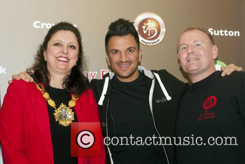 Peter Andre and Mayoress Of Croydon 6