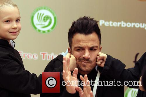 Peter Andre launches a Kung Fu