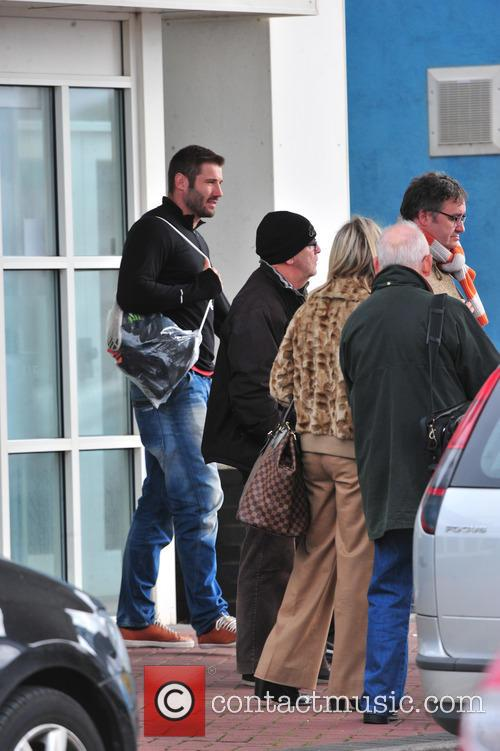 Star of Strictly start to arrive in Blackpool