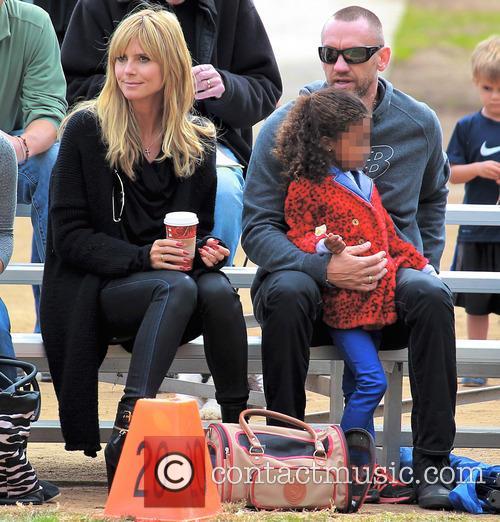 Heidi Klum, Lou Samuel and Martin Kristen 11