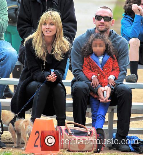 Heidi Klum, Lou Samuel and Martin Kristen 1