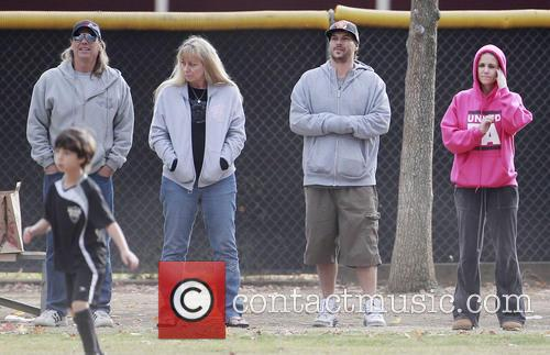 Kevin Federline takes his family to a soccer...
