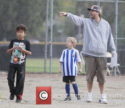 Kevin Federline and Sean Preston 4