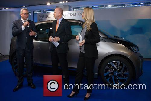 BMW present the new i3