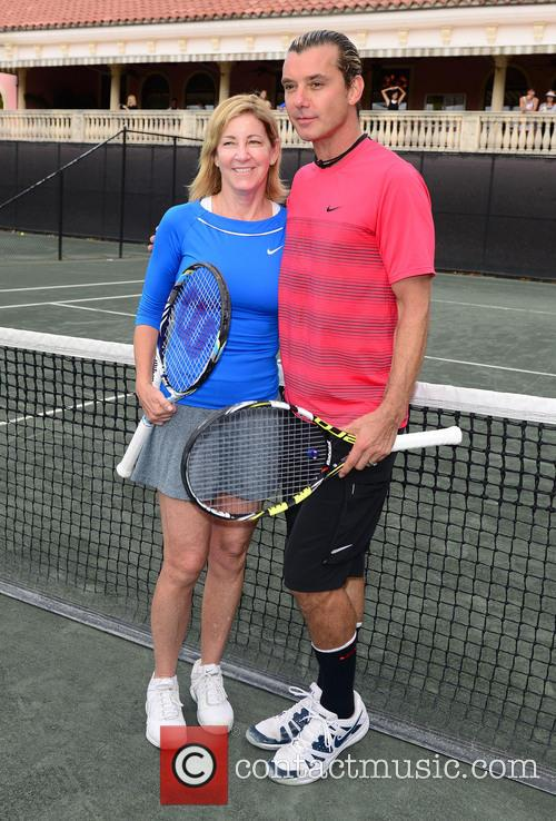 Chris Evert and Gavin Rossdale 8