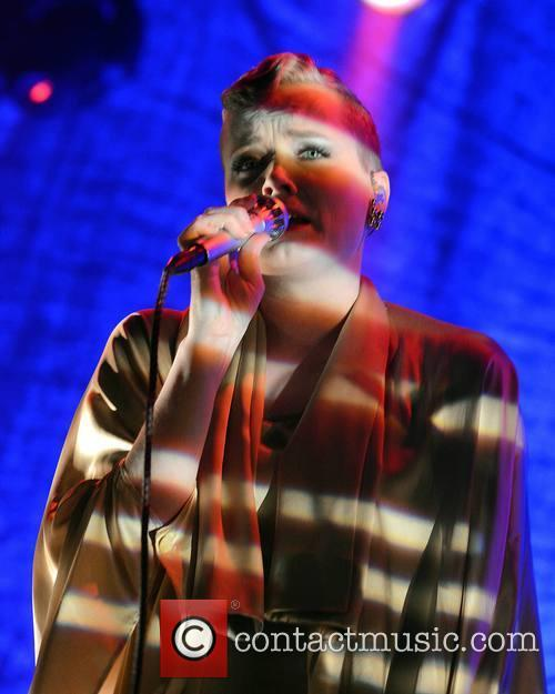Ane Brun performing at Vicar Street