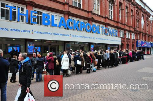 Crowds for Strictly Blackpool