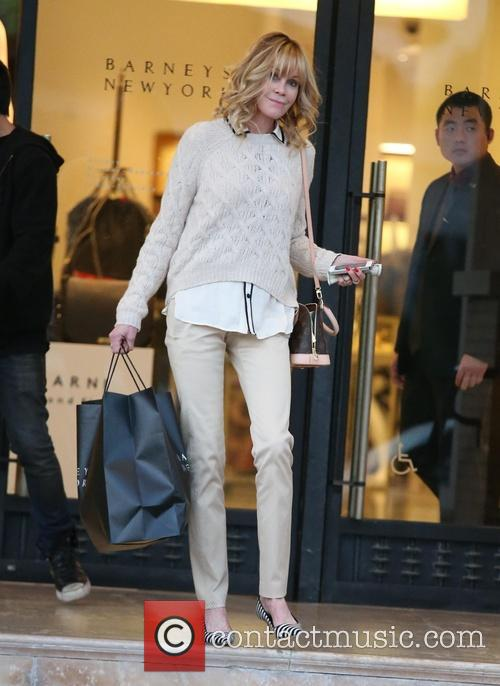 Melanie Griffith shopping