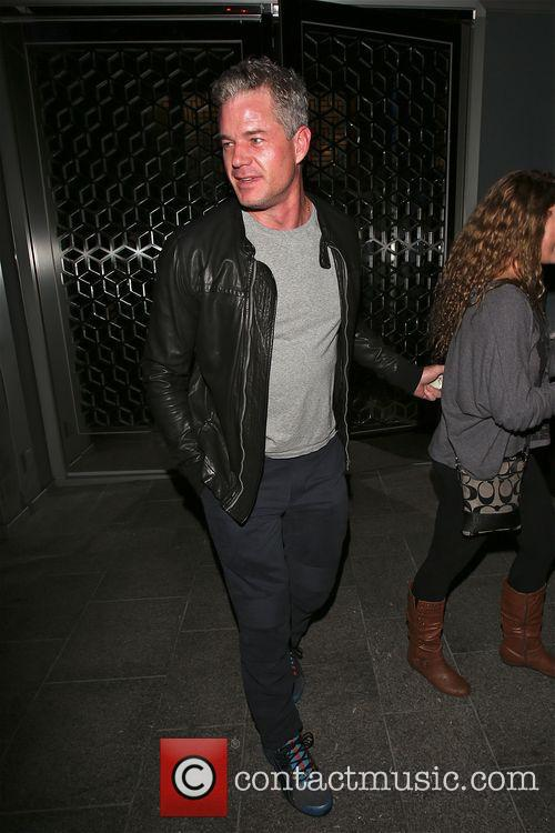 Eric Dane and Rebecca Gayheart have dinner at...