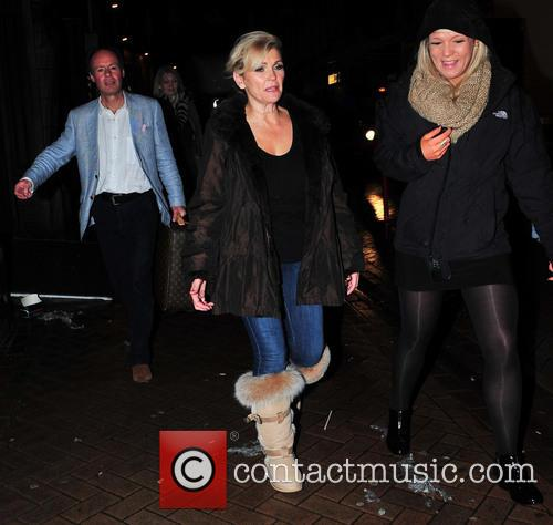 fiona fullerton celebrities attend the strictly come 3957589