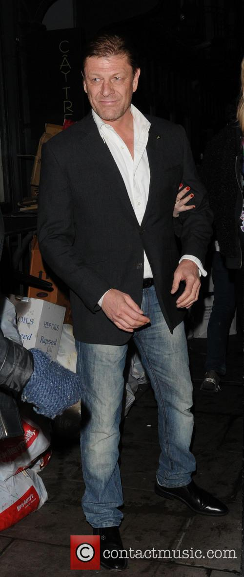 Sean Bean leaving The Groucho Club