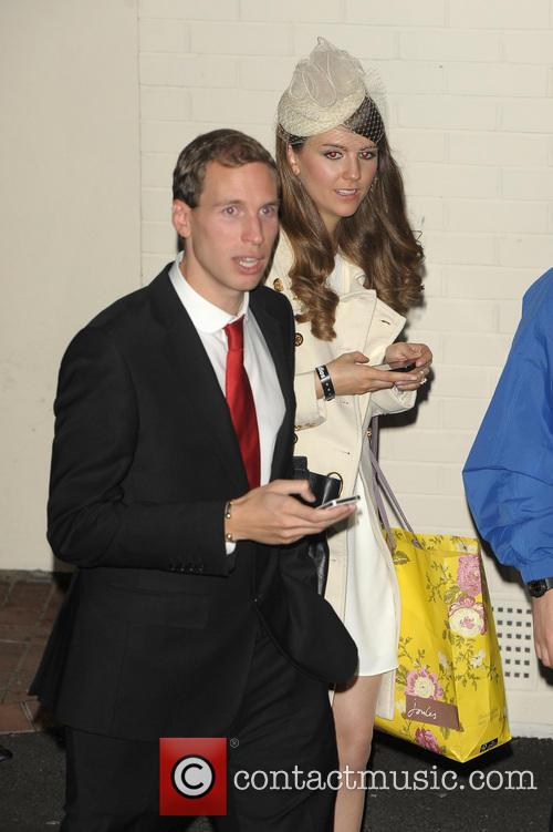 Gabriella Douglas, Simon Watkinson, Kate Middleton and Prince William Look-alike 2