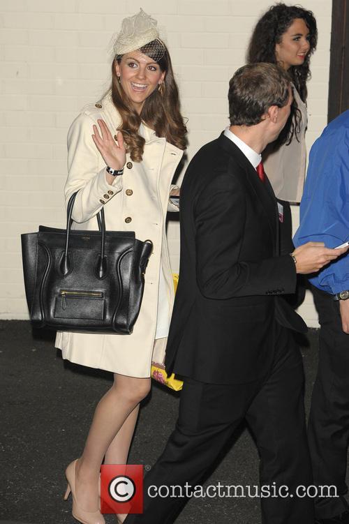 Gabriella Douglas, Simon Watkinson, Kate Middleton and Prince William Look-alike 1