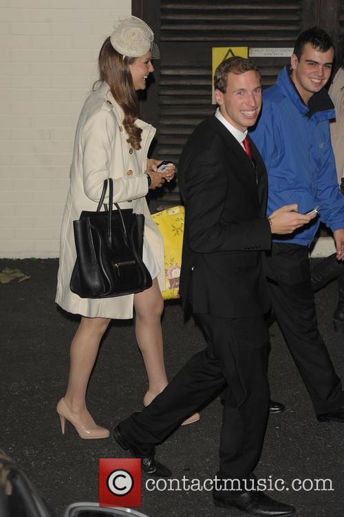 Gabriella Douglas, Simon Watkinson, Kate Middleton and Prince William Look-alike 3