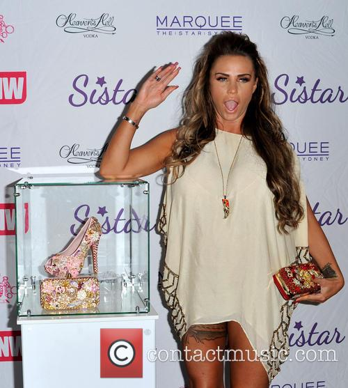 Launch of 'Katie Price Gold Collection' for Sistar...