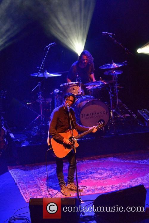 Joshua James performing live in concert