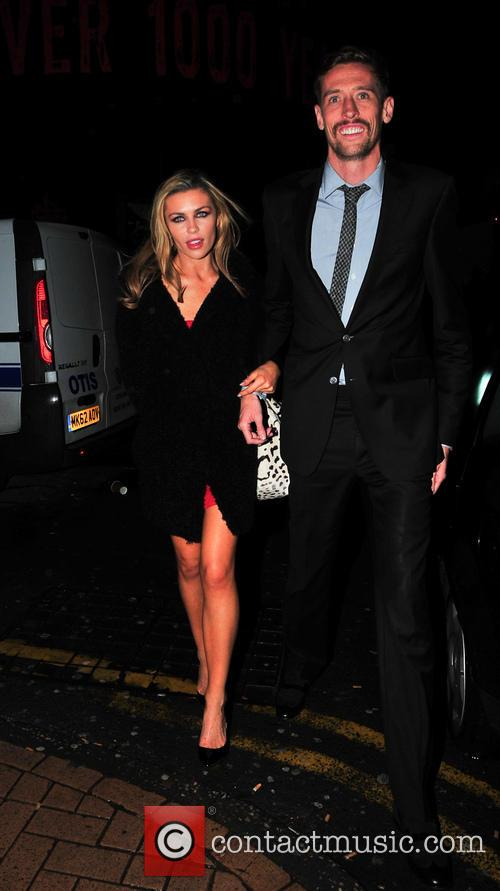 Abbey Clancy and Peter Crouch 2