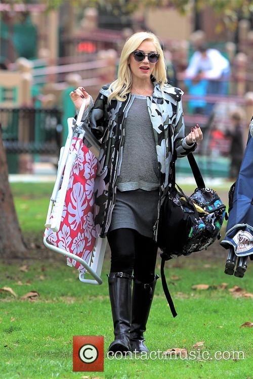 Gwen Stefani and Kingston Rossdale 13