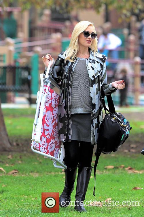 Gwen Stefani and Kingston Rossdale 15