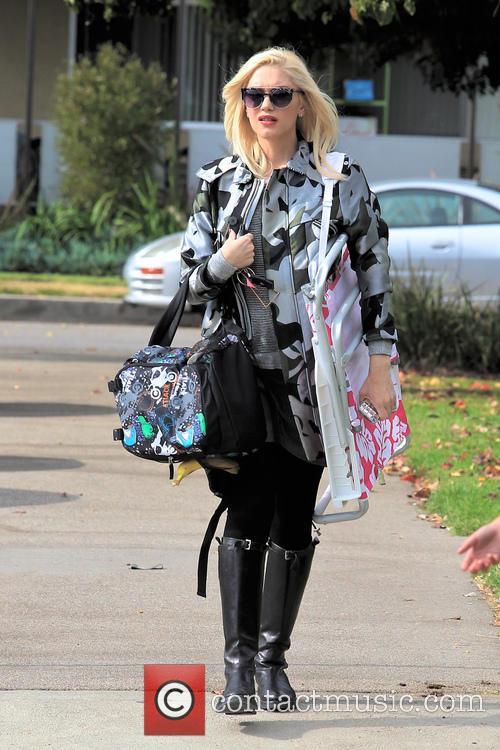 Gwen Stefani and Kingston Rossdale 17