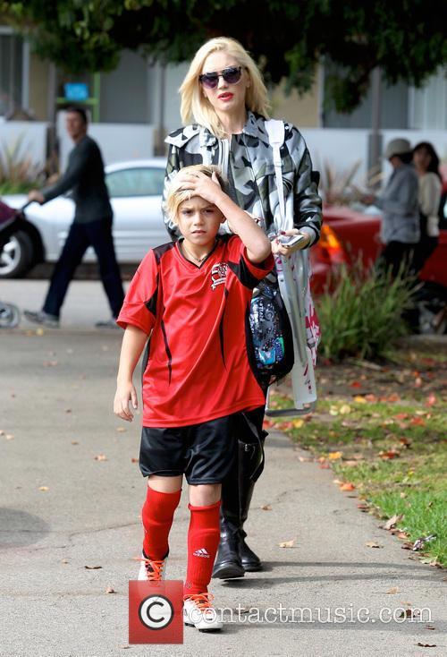 Gwen Stefani and Kingston Rossdale 18
