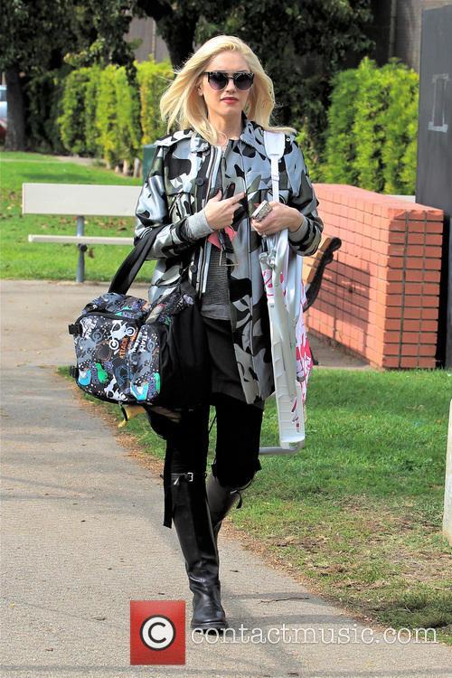 Gwen Stefani and Kingston Rossdale 26