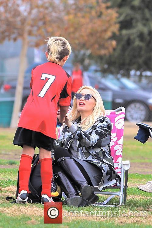 Gwen Stefani and Kingston Rossdale 31