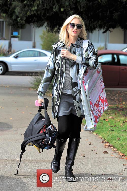 Gwen Stefani and Kingston Rossdale 32