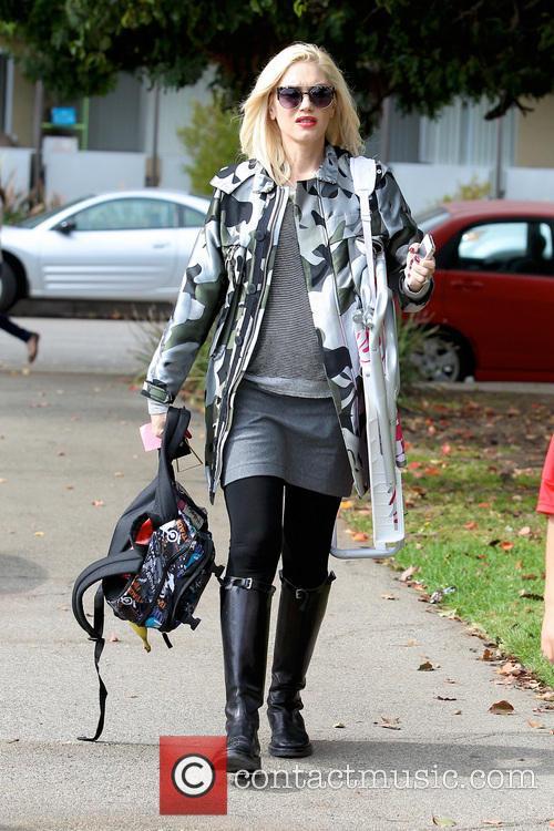 Gwen Stefani and Kingston Rossdale 35