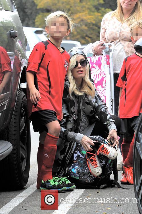 Gwen Stefani and Kingston Rossdale 46