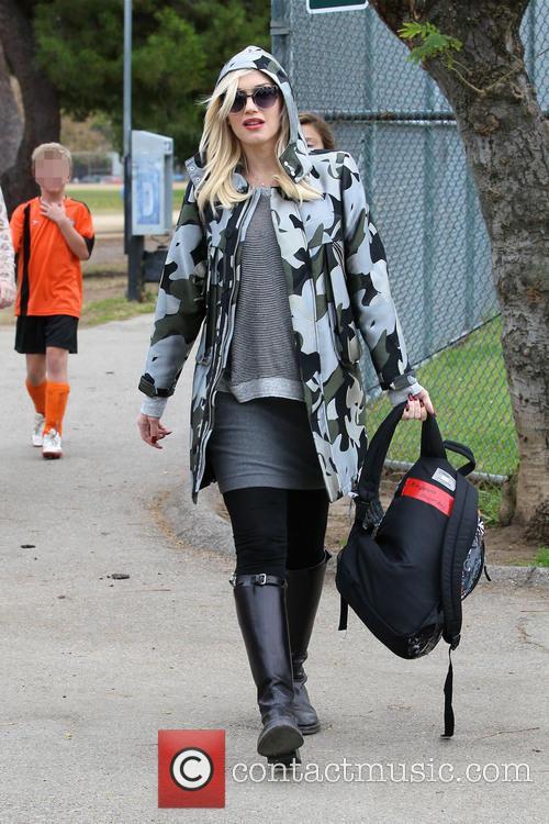 Gwen Stefani and Kingston Rossdale 47