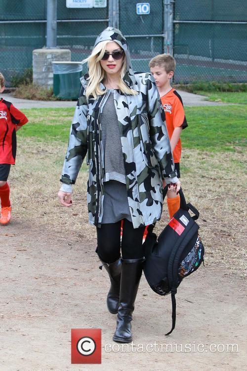 Gwen Stefani and Kingston Rossdale 49