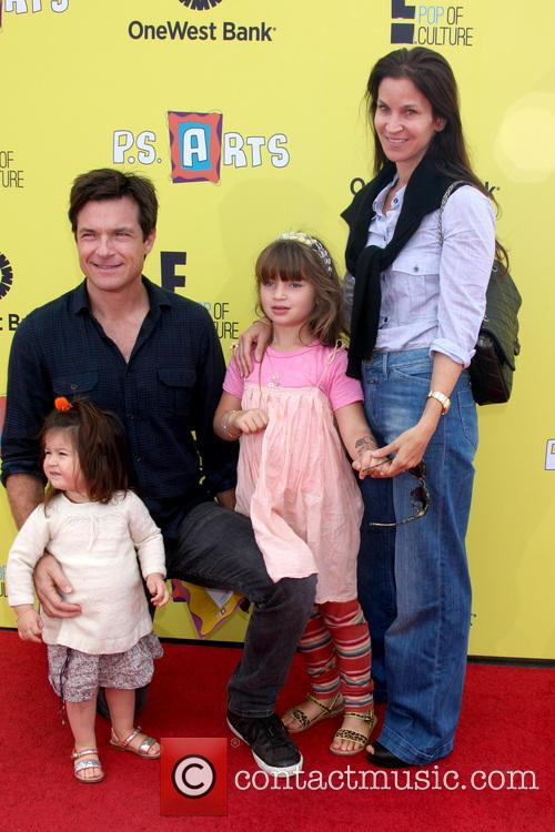 Jason Bateman and Amanda Anka 2