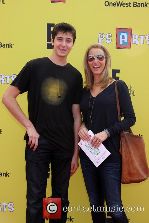 Julian Murray Stern and Lisa Kudrow 1