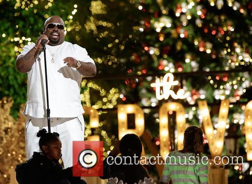 cee lo green the grove tree lighting 3958622