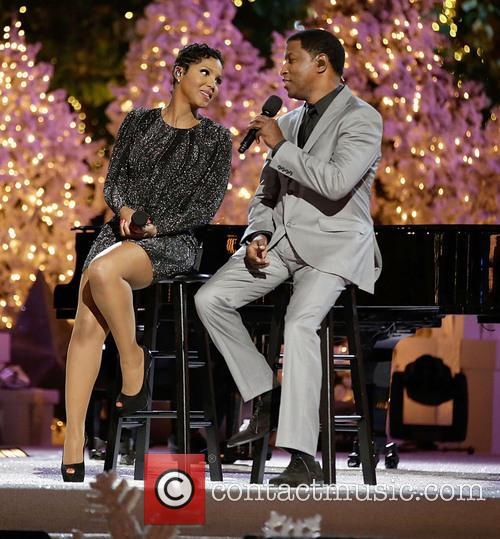 toni braxton babyface the grove tree lighting spectacular 3958619
