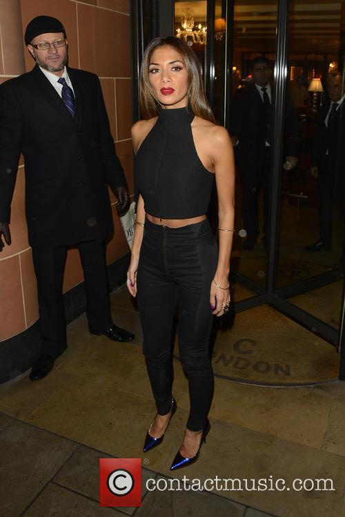 X Factor Judges Dine out At C London...