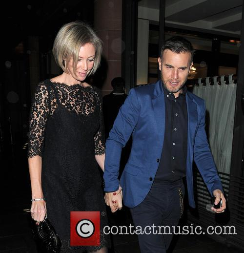 Gary Barlow and Dawn Andrews 3
