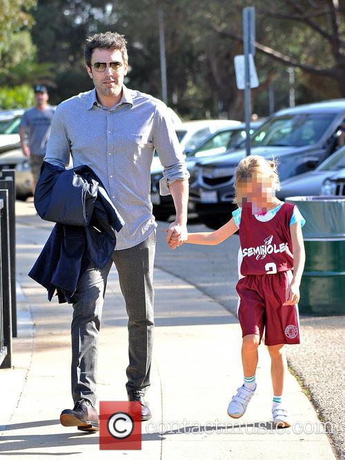 Ben Affleck and Violet Affleck 2