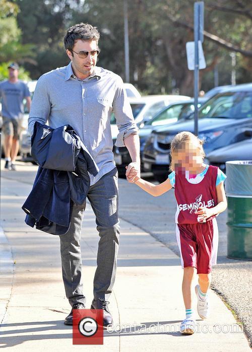 Ben Affleck and Violet Affleck 1