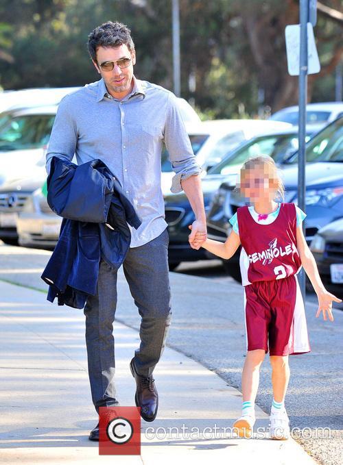 Ben Affleck and Violet Affleck 6