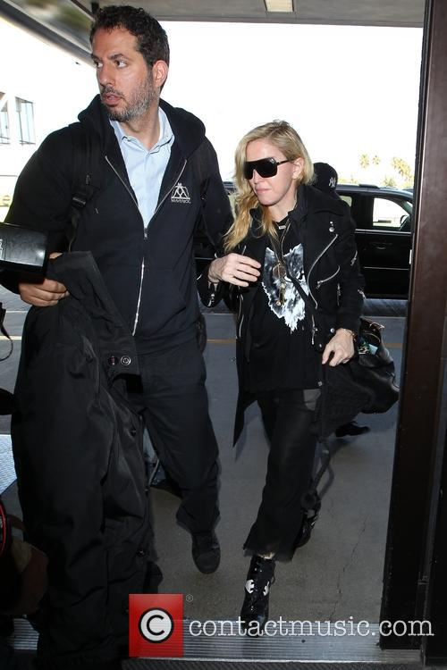 madonna madonna at lax for a departing 3959424
