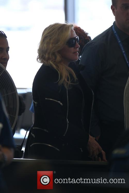 madonna madonna at lax for a departing 3959427