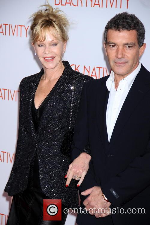 Melanie Griffiths and Antonio Banderas