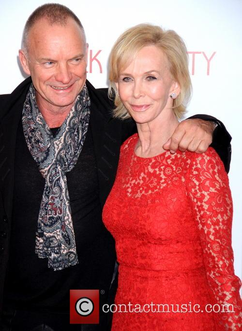 Sting, Gordon Sumner and Trudy Styler 2
