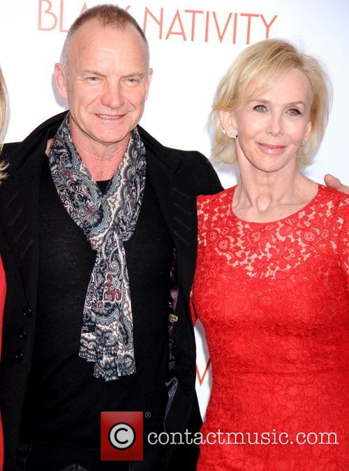 Sting, Gordon Sumner and Trudy Styler 1