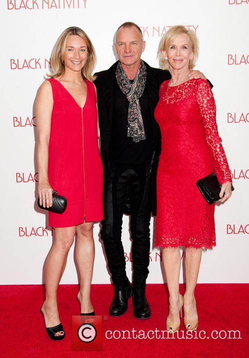 Sting, Gordon Sumner and Trudie Styler 4