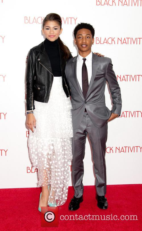 Zendaya and Jacob Latimore