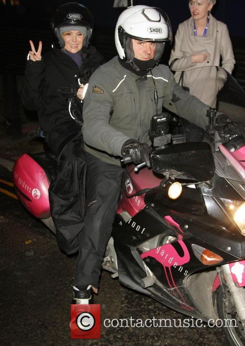 Amanda Holden Celebrities Leaving Bt Tower Following Telethon 3959524